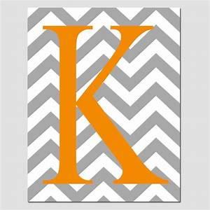 items similar to sale chevron monogrammed letter or With chevron letter k