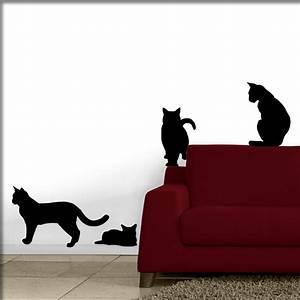 Katzen Fernhalten Von Möbeln : wandtattoo katzen mal ganz preiswert ~ Michelbontemps.com Haus und Dekorationen