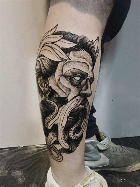 mythological blackwork  michele zingales tattoo