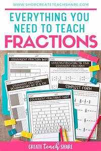 Fraction Printables In 2020