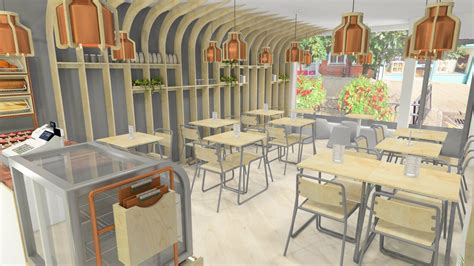 Organic Kitchen  Restaurant Interior Design  Liqui