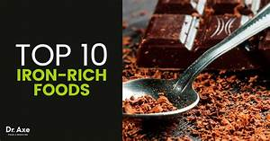 10 foods high in iron to add to your diet dr axe