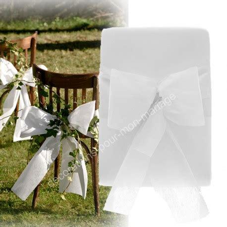 noeud de chaise mariage pas cher noeud de chaise automatique blanc