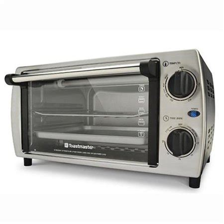 Toastmaster Toaster Oven by Toastmaster Tm 103tr Stainless Steel 4 Slice Toaster Oven