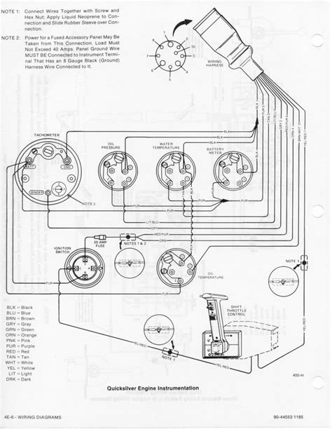 160 Mercruiser Wiring Diagram by 1982 485 Ranger Engine To 470 Page 1 Iboats