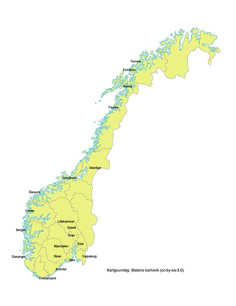 norgeskartet no