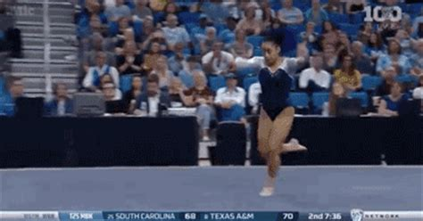 hip hop gymnastics floor routine ucla gymnast sophina dejesus combines hip hop and back