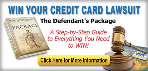 What starts as annoying collection calls eventually turns if you receive a summons in the mail showing that your credit card company has sued you to collect on a debt, do not ignore it. Sample Answer on How to Answer a Summons   How To Win A Credit Card Lawsuit