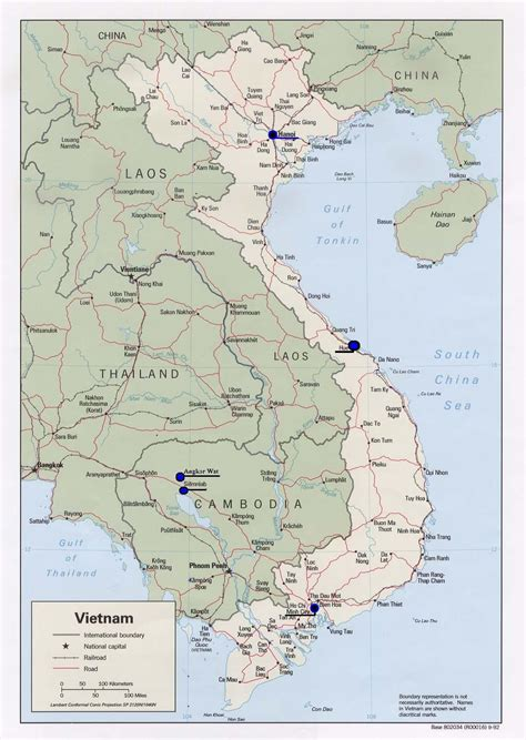 map  vietnam socialist republic  vietnam maps