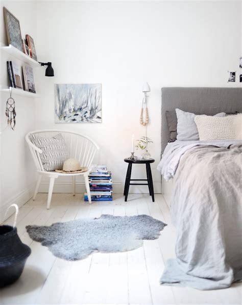 chambre scandinave déco chambre cocooning textures et autres astuces pour