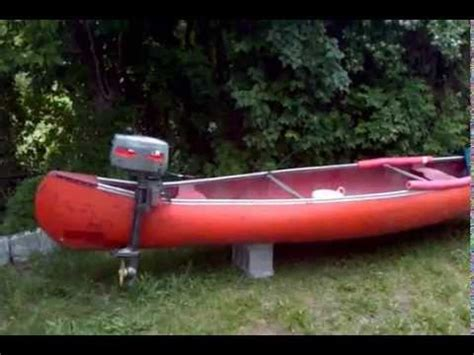 Canoes With Electric Motors by Fishing Canoe With Motor