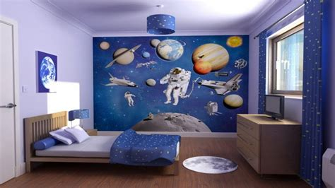 Space Bedroom Decor, Space Themed Bedroom Ideas Bedroom