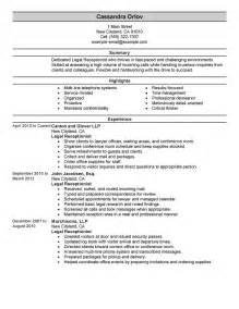 real estate receptionist duties for resume receptionist resume writing services