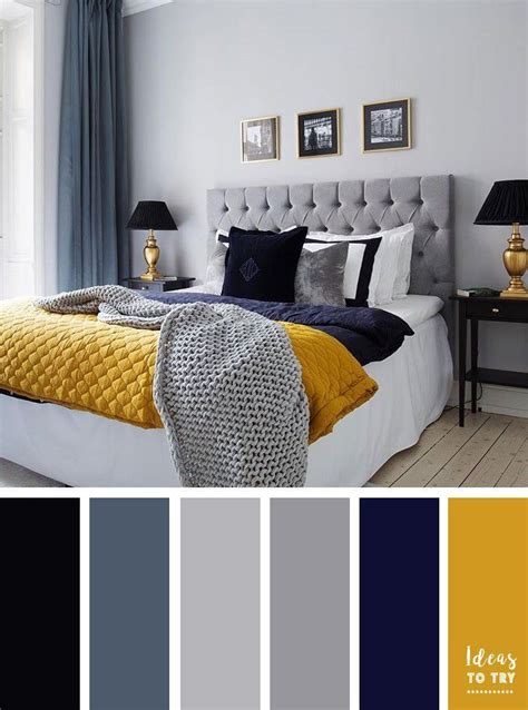 navy gold bedroom ideas  pinterest blue