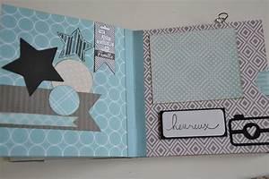 Album Photo Fille : scrap album naissance ~ Teatrodelosmanantiales.com Idées de Décoration