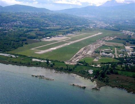 chambre de commerce isere aeroport chambery aix les bains photo vue du ciel