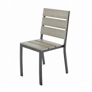 Chaise De Jardin En Aluminium : chaise de jardin en aluminium escale ~ Teatrodelosmanantiales.com Idées de Décoration