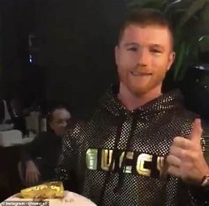 Canelo Celebrates His Victory Over Rocky Fielding With Dinner At Salt Bae U0026 39 S Restaurant