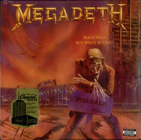 Megadeth - Peace Sells... But Who's Buying? - Mr Vinyl