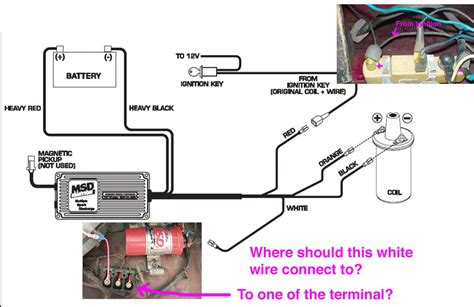 Msd Coil Tach Wiring by Msd6al With 280z 75 Wiring Question Ignition And