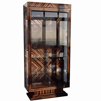 Deco Cabinet Display Bespoke Furniture Examples Ebony