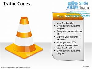 How To Make Alert Traffic Cones Power Point Slides And Ppt