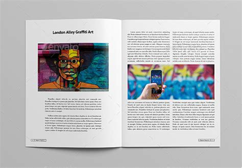Magazine Format Template by 10 Best Magazine Templates Photoshop Psd And Indesign