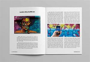 10 best art magazine templates photoshop psd and indesign With adobe indesign magazine template download free