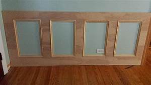 how to make a wall panel