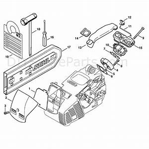 Stihl Ms 190 Chainsaw  Ms190 T  Parts Diagram  Air Filter