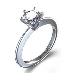 modern engagement ring modern solitaire engagement ring in palladium canada