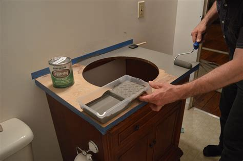paint vanity top rental refresh big bangs in small projects new faucets