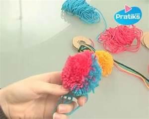 Faire Un Pompon Avec De La Laine : comment faire un pompon ou boule de no l en laine pratiks ~ Zukunftsfamilie.com Idées de Décoration