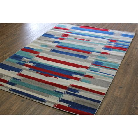 Red White And Blue Area Rugs by Rug Factory Plus Kilim Blue Red Area Rug Allmodern
