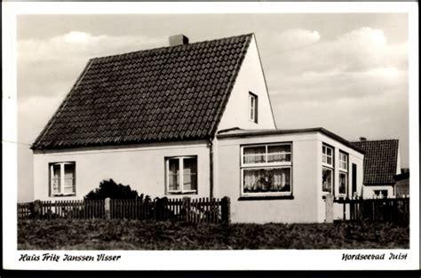 Ansichtskarte  Postkarte Juist, Blick Zum Haus Fritz