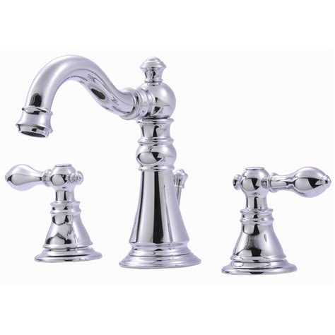 Ultra Faucets Widespread Bathroom Faucet With Double