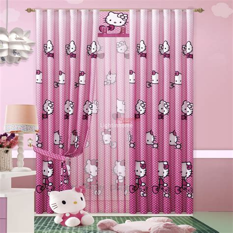 5 kinds of pink blackout curtains