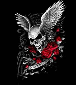 I want the skull & wings as a tattoo | Tats | Pinterest ...