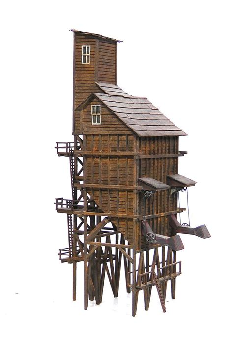 wood tower plans google search ho scale buildings