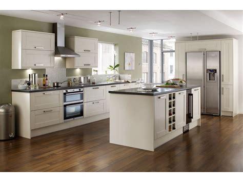photo cuisine blanche cuisine blanche et bois pas cher sur cuisine lareduc com