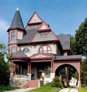 The Queen Anne: Victorian Architecture and Décor - Old ...