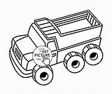 Tractor Wuppsy sketch template
