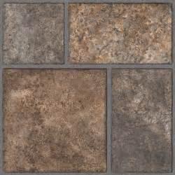 trafficmaster allure yukon brown resilient vinyl tile