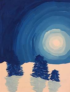 Welcome to Mrs. Peterson's Art Class!: Winter Landscape ...