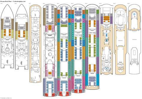 oceana deck  deck plan