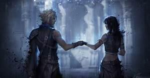 Final Fantasy Cloud Strife Tifa Lockhart Wallpapers HD