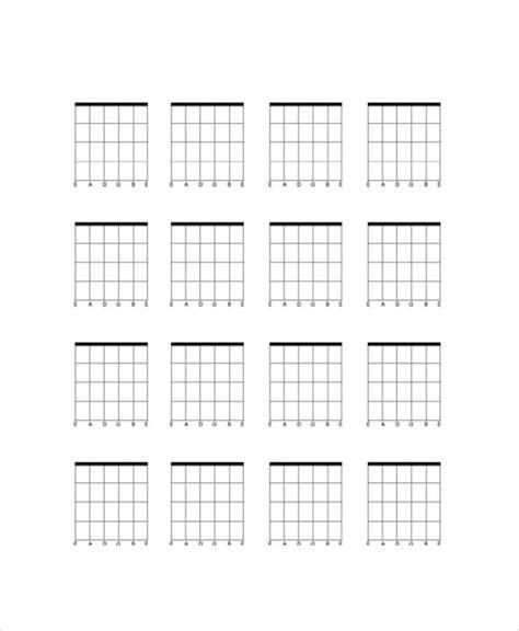 chord template pdf blank chord chart pdf printable menu and chart