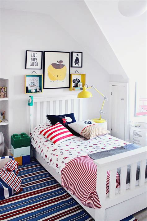 littlebigbell boys bedroom makeover    white