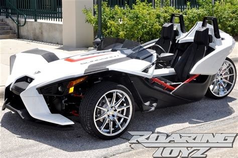 Custom Chrome Wheels For Polaris Slingshot 20 Inch Front