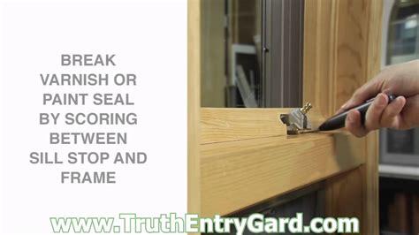 install window door hardware truth entrygard pella marvin sentry safegard prime